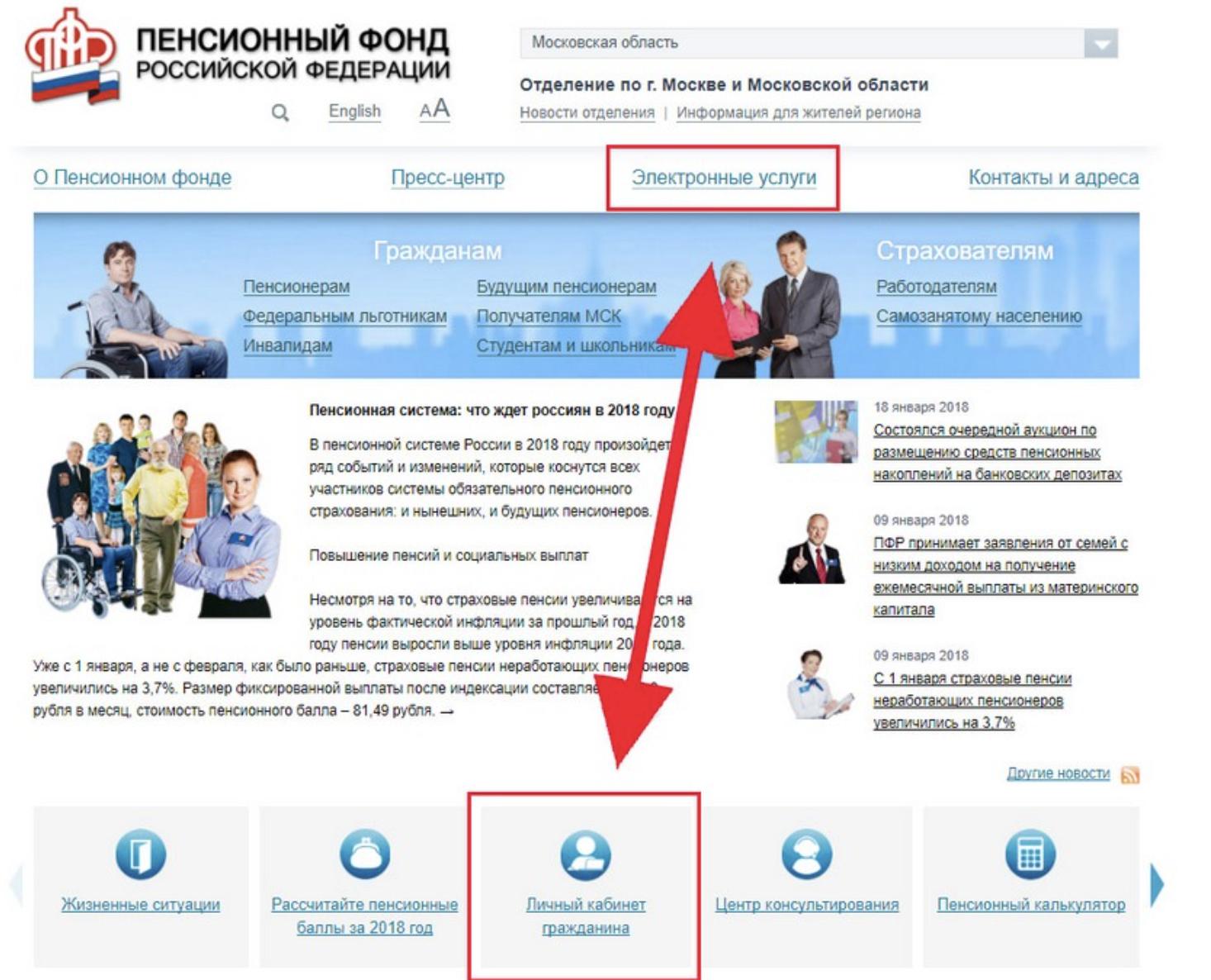 Как записаться в Пенсионный фонд РФ для получения свидетельства СНИЛС